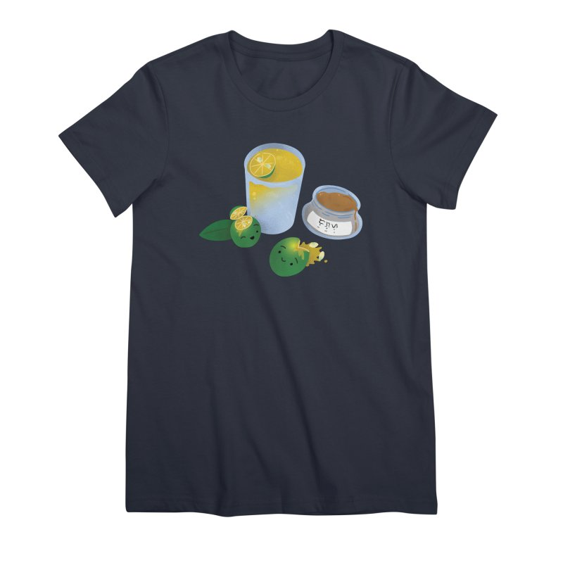 Honey Calamansi Juice Women's Premium T-Shirt by Filipeanut Sari-Sari Store
