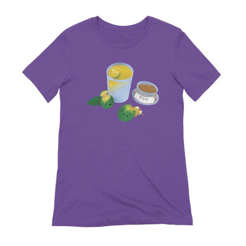 Honey Calamansi Juice Women's Extra Soft T-Shirt by Filipeanut Sari-Sari Store