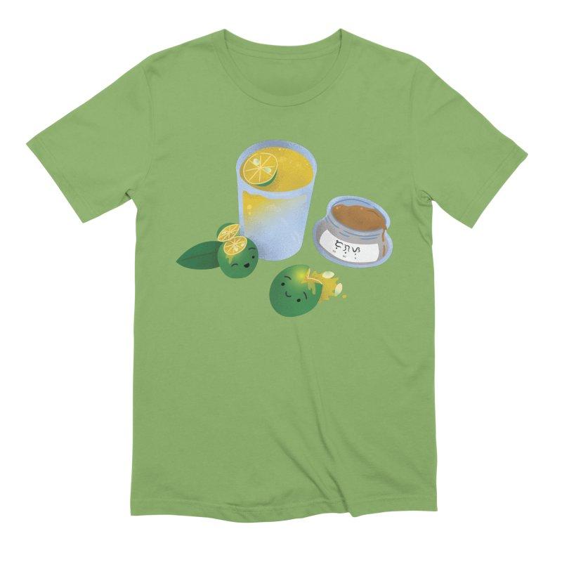 Honey Calamansi Juice Men's Extra Soft T-Shirt by Filipeanut Sari-Sari Store