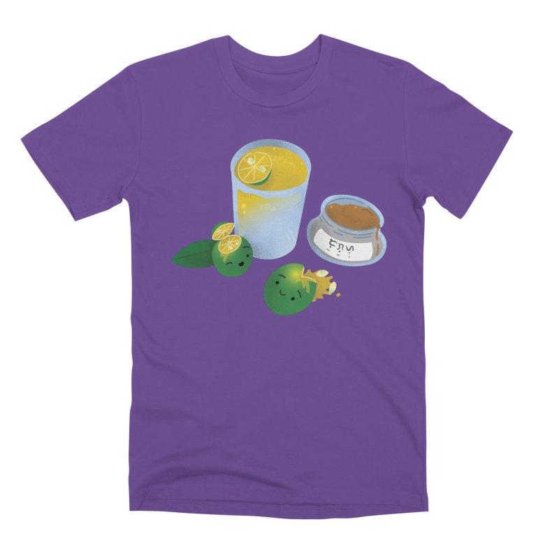Honey Calamansi Juice Men's Premium T-Shirt by Filipeanut Sari-Sari Store