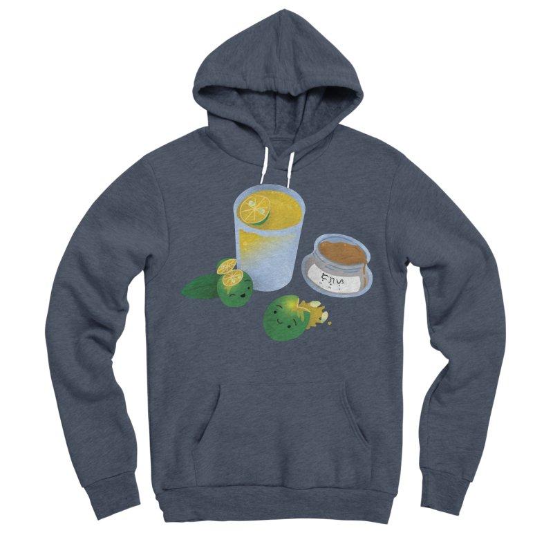 Honey Calamansi Juice Men's Sponge Fleece Pullover Hoody by Filipeanut Sari-Sari Store