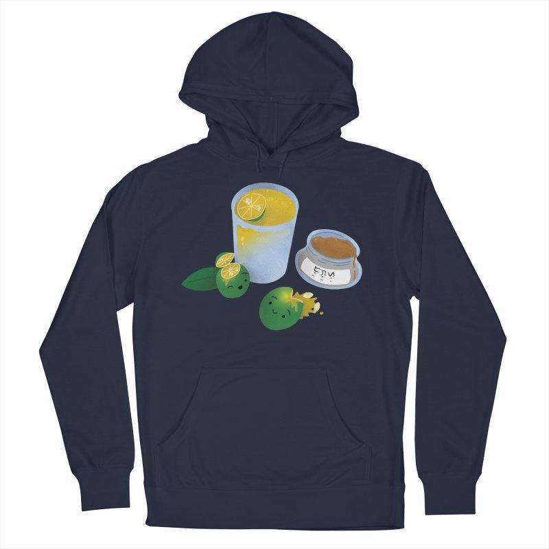Honey Calamansi Juice Men's French Terry Pullover Hoody by Filipeanut Sari-Sari Store