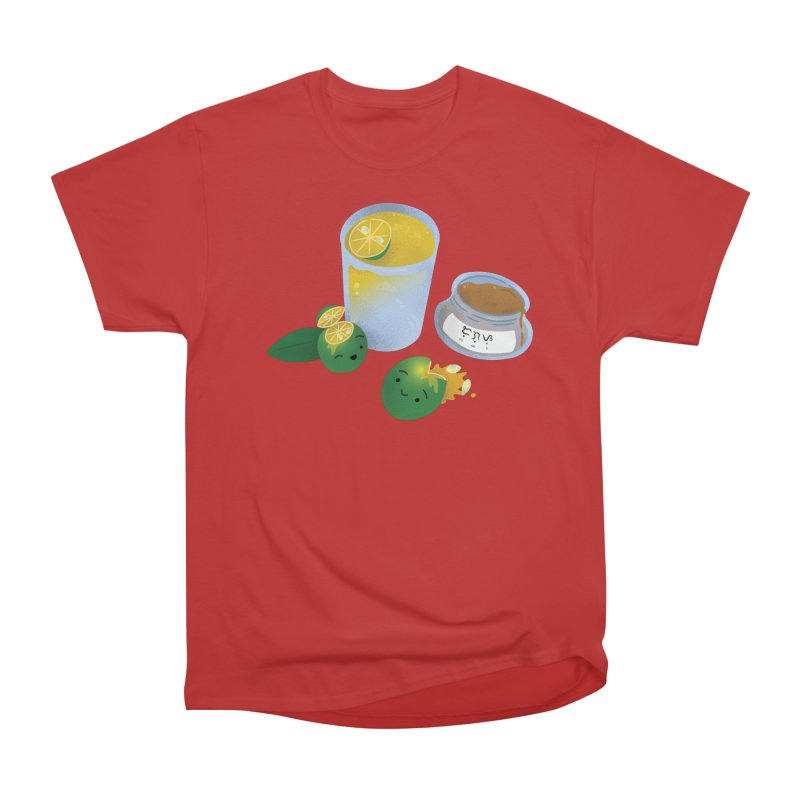 Honey Calamansi Juice Women's Heavyweight Unisex T-Shirt by Filipeanut Sari-Sari Store