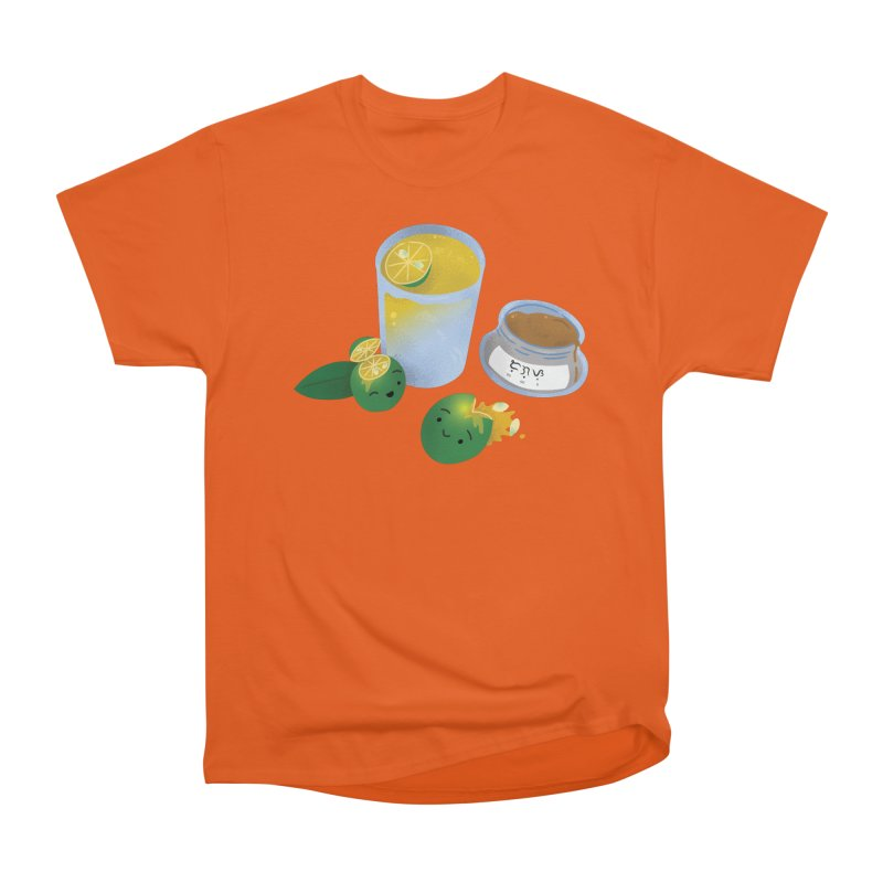 Honey Calamansi Juice Women's Heavyweight Unisex T-Shirt by Filipeanut Sari-Sari Store