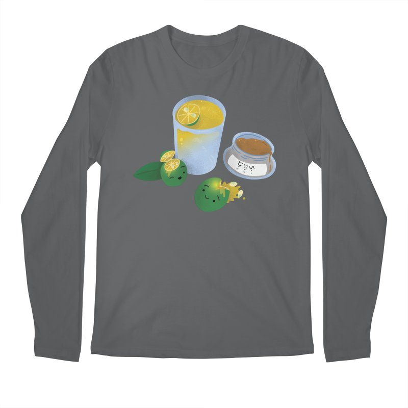 Honey Calamansi Juice Men's Longsleeve T-Shirt by Filipeanut Sari-Sari Store