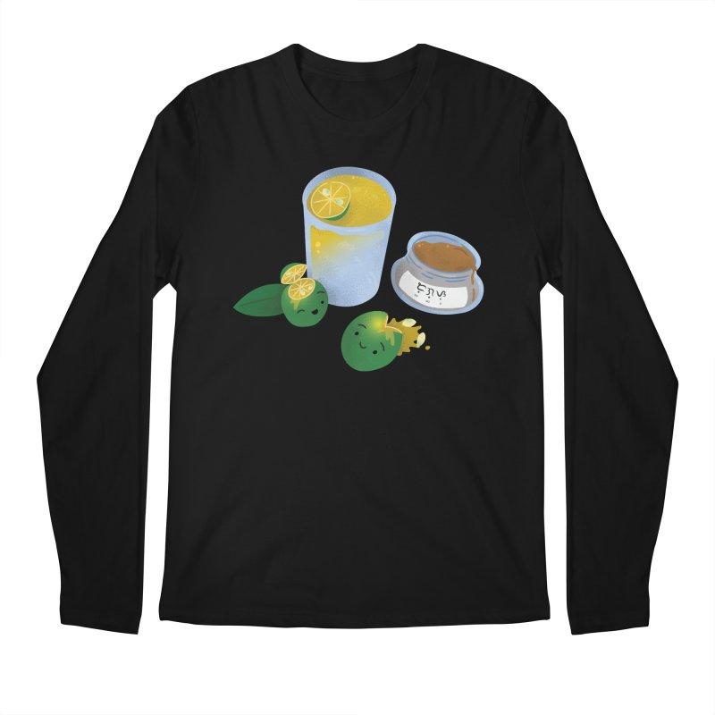 Honey Calamansi Juice Men's Regular Longsleeve T-Shirt by Filipeanut Sari-Sari Store