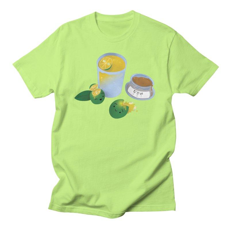Honey Calamansi Juice Men's T-Shirt by Filipeanut Sari-Sari Store