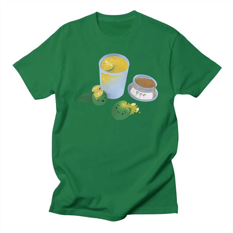 Honey Calamansi Juice Men's T-Shirt by Filipeanut Sari-Sari Store