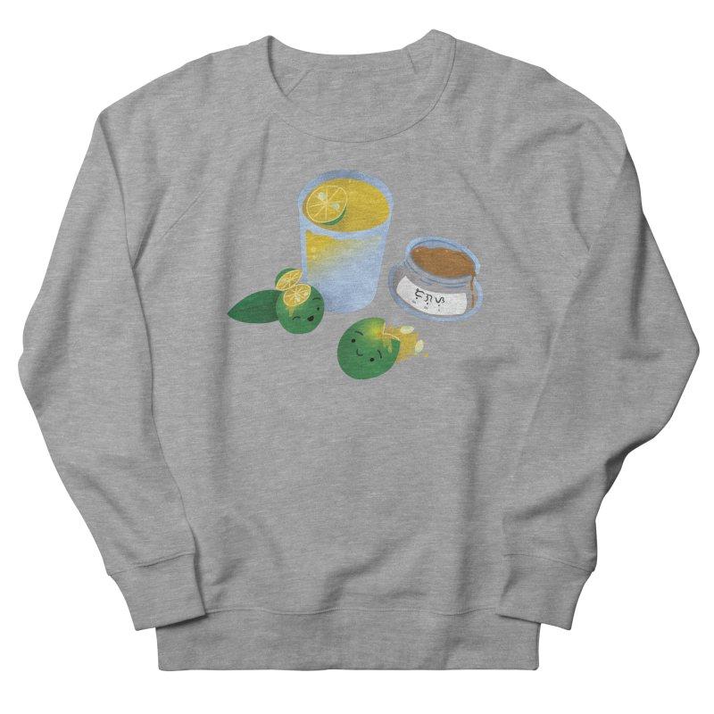 Honey Calamansi Juice Women's French Terry Sweatshirt by Filipeanut Sari-Sari Store