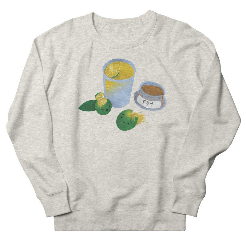Honey Calamansi Juice Men's French Terry Sweatshirt by Filipeanut Sari-Sari Store