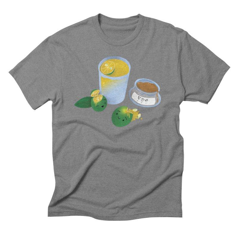Honey Calamansi Juice Men's Triblend T-Shirt by Filipeanut Sari-Sari Store