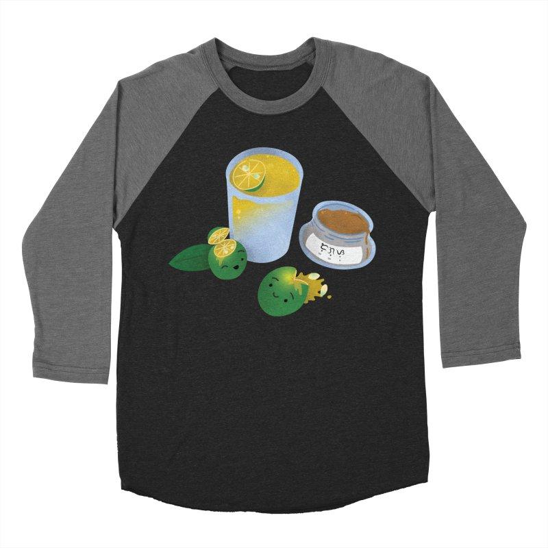 Honey Calamansi Juice Women's Baseball Triblend Longsleeve T-Shirt by Filipeanut Sari-Sari Store
