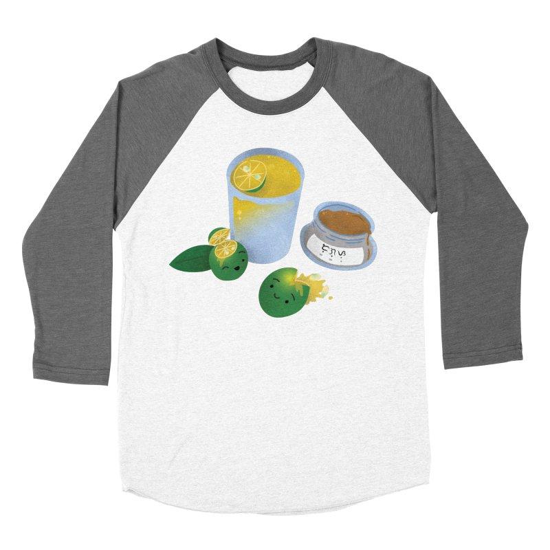 Honey Calamansi Juice Men's Baseball Triblend Longsleeve T-Shirt by Filipeanut Sari-Sari Store