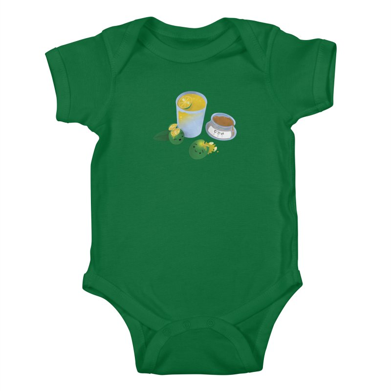 Honey Calamansi Juice Kids Baby Bodysuit by Filipeanut Sari-Sari Store