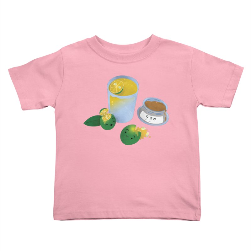 Honey Calamansi Juice Kids Toddler T-Shirt by Filipeanut Sari-Sari Store