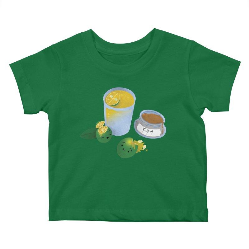 Honey Calamansi Juice Kids Baby T-Shirt by Filipeanut Sari-Sari Store