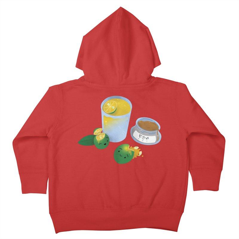 Honey Calamansi Juice Kids Toddler Zip-Up Hoody by Filipeanut Sari-Sari Store
