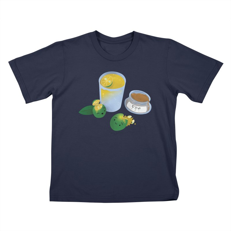 Honey Calamansi Juice Kids T-Shirt by Filipeanut Sari-Sari Store