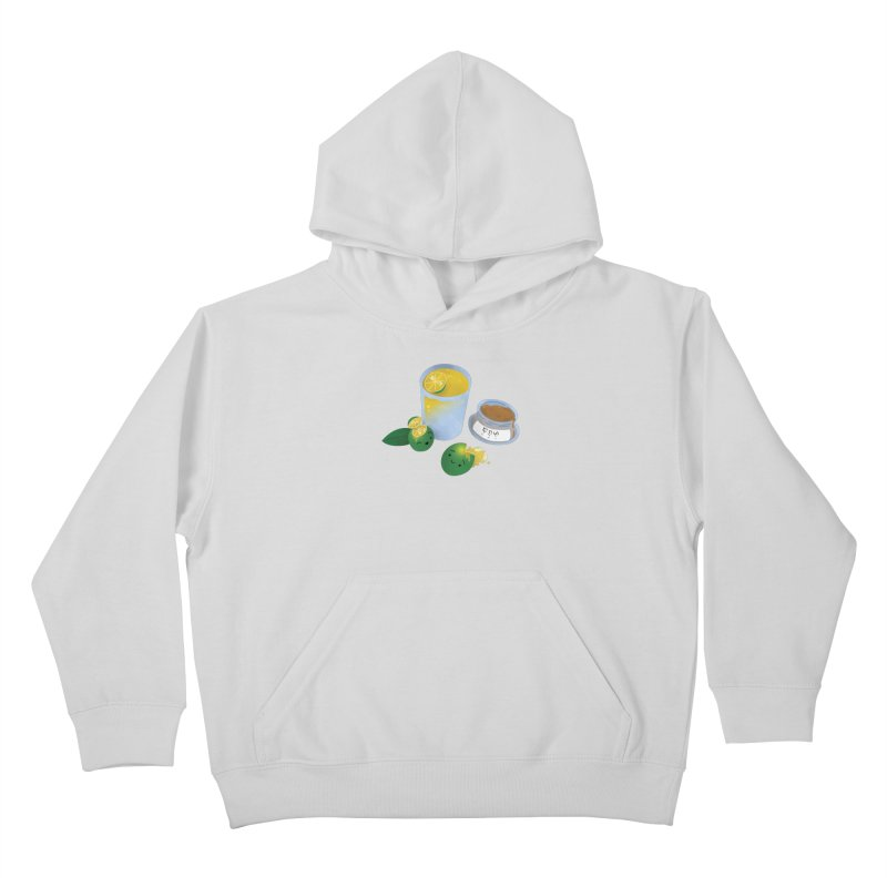 Honey Calamansi Juice Kids Pullover Hoody by Filipeanut Sari-Sari Store