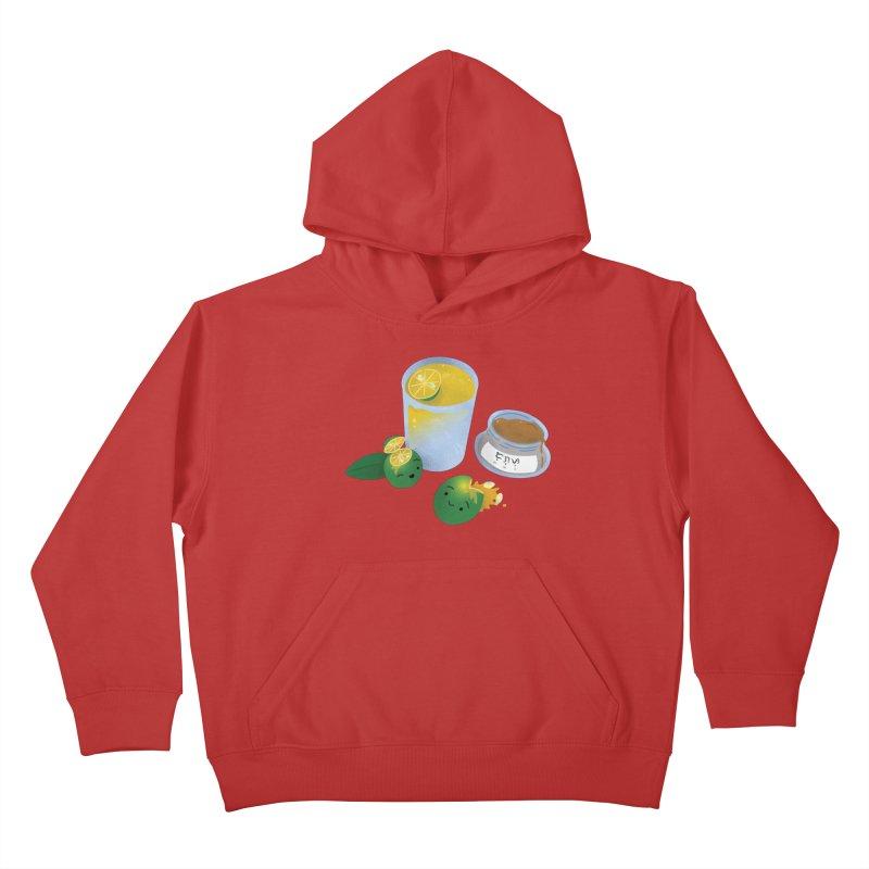 Honey Calamansi Juice Kids Pullover Hoody by Filipeanut Sari-Sari Store