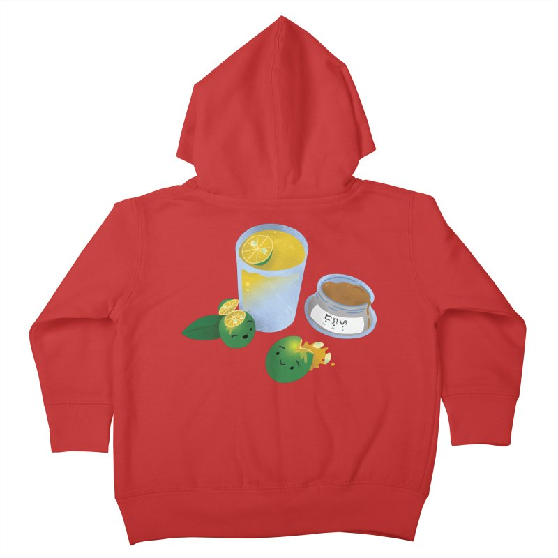 Honey Calamansi Juice Kids Toddler Zip-Up Hoody by Filipeanut Sari-Sari Store