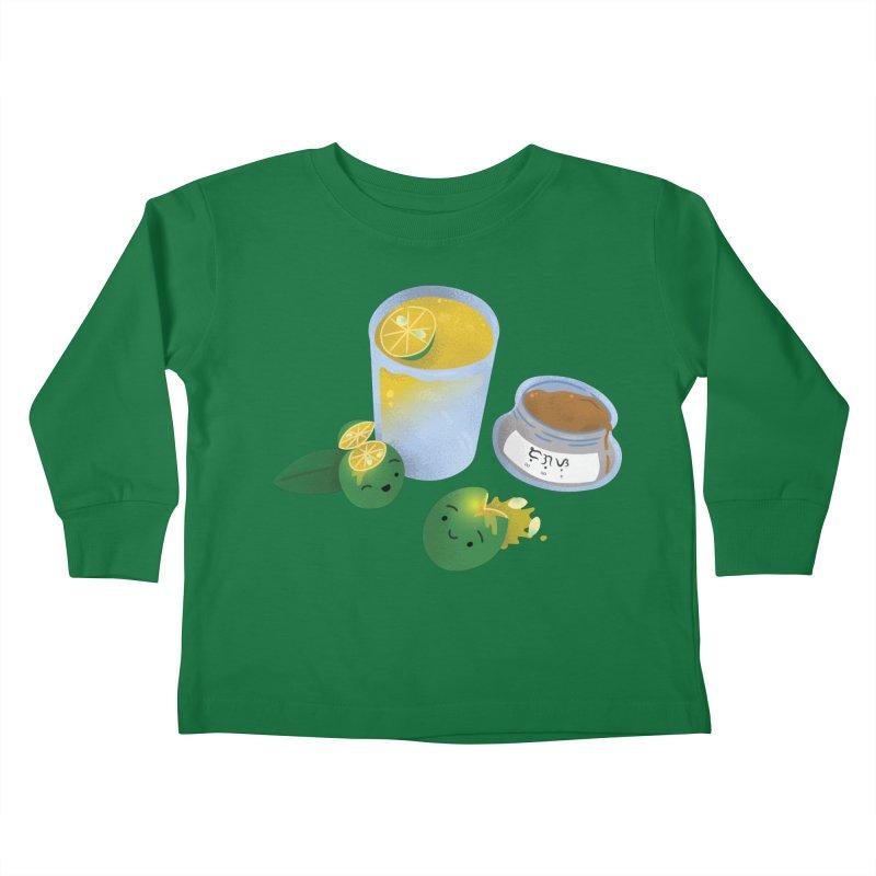 Honey Calamansi Juice Kids Toddler Longsleeve T-Shirt by Filipeanut Sari-Sari Store