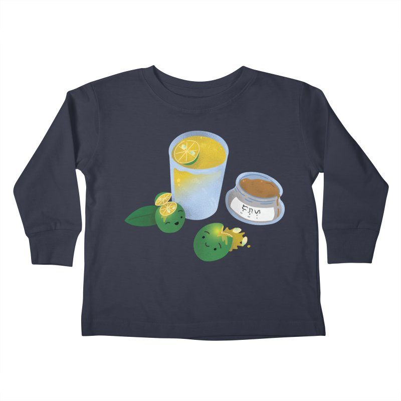 Honey Calamansi Juice Kids Toddler Longsleeve T-Shirt by Filipeanut Sari-Sari Store