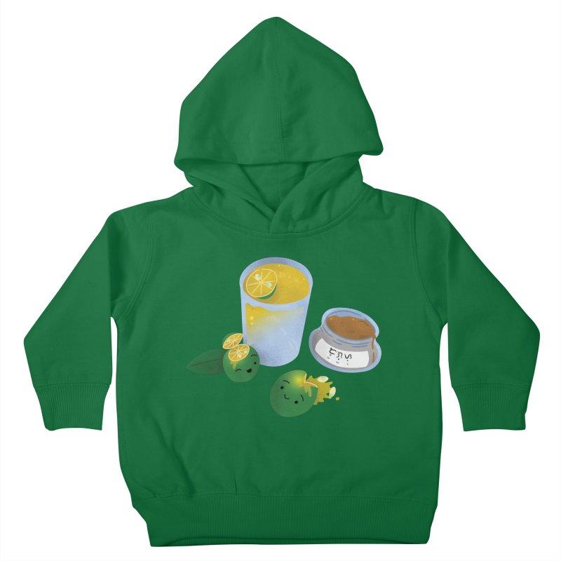 Honey Calamansi Juice Kids Toddler Pullover Hoody by Filipeanut Sari-Sari Store