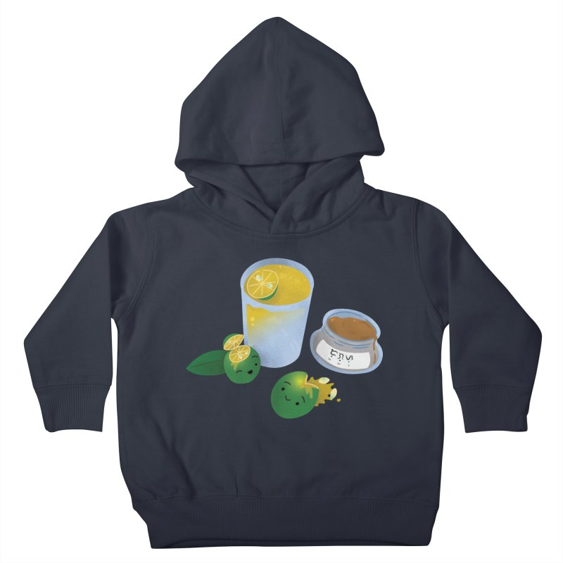 Honey Calamansi Juice Kids Toddler Pullover Hoody by Filipeanut Sari-Sari Store