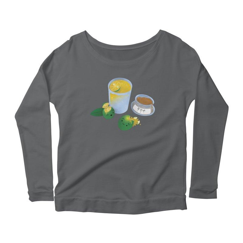 Honey Calamansi Juice Women's Longsleeve T-Shirt by Filipeanut Sari-Sari Store