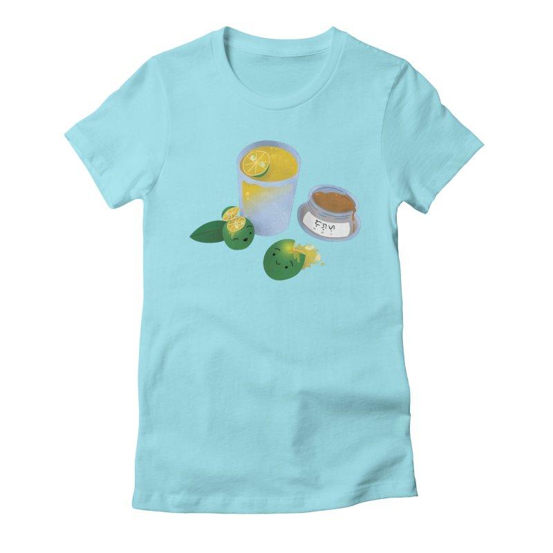 Honey Calamansi Juice Women's T-Shirt by Filipeanut Sari-Sari Store