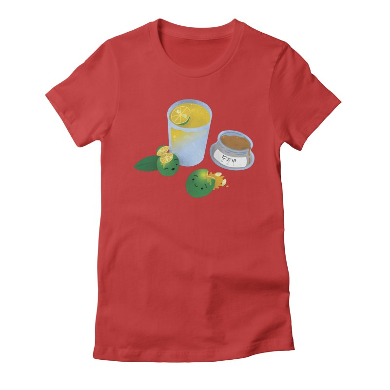 Honey Calamansi Juice Women's T-Shirt by Filipeanut Sari-Sari Store