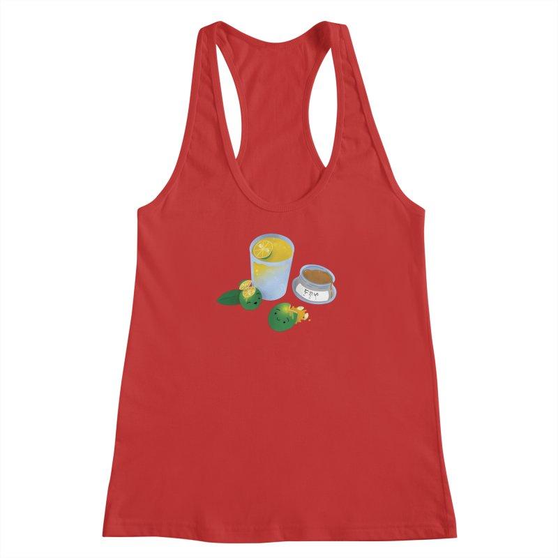 Honey Calamansi Juice Women's Racerback Tank by Filipeanut Sari-Sari Store