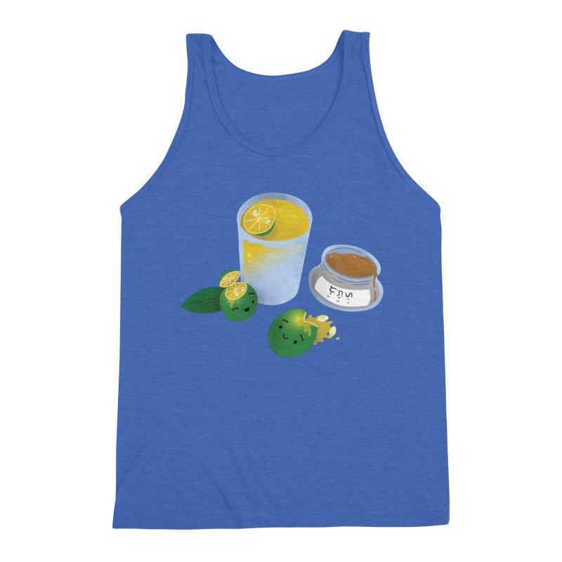Honey Calamansi Juice Men's Triblend Tank by Filipeanut Sari-Sari Store