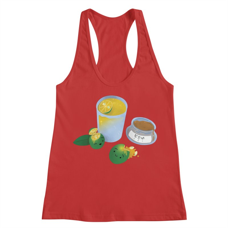 Honey Calamansi Juice Women's Racerback Tank by Filipeanut Sari-Sari Store