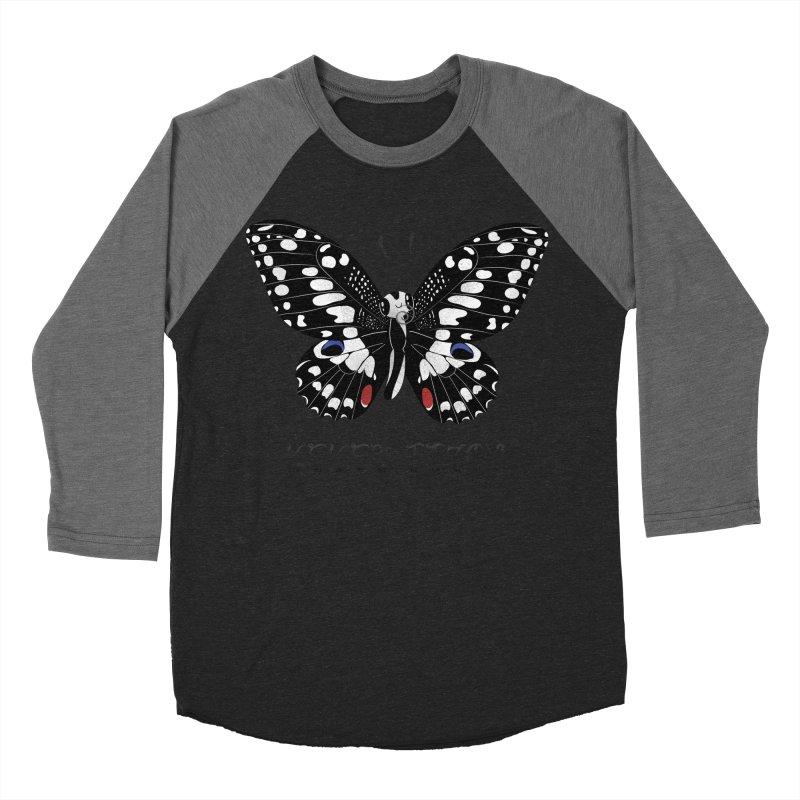 Paruparo ng Kalamansi Women's Baseball Triblend Longsleeve T-Shirt by Filipeanut Sari-Sari Store