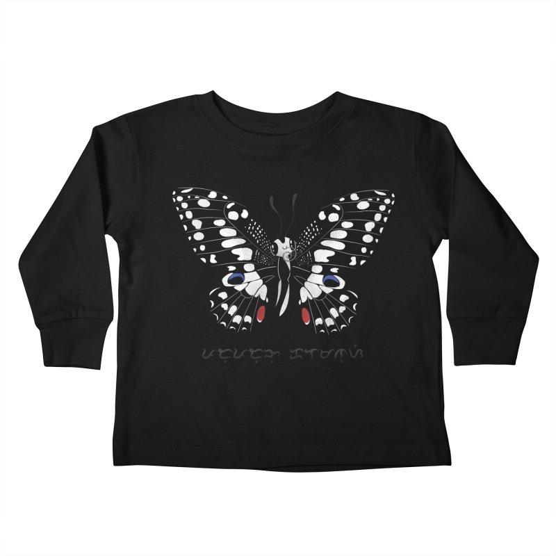 Paruparo ng Kalamansi Kids Toddler Longsleeve T-Shirt by Filipeanut Sari-Sari Store