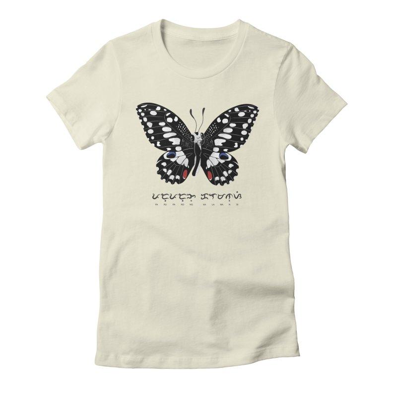 Paruparo ng Kalamansi Women's T-Shirt by Filipeanut Sari-Sari Store