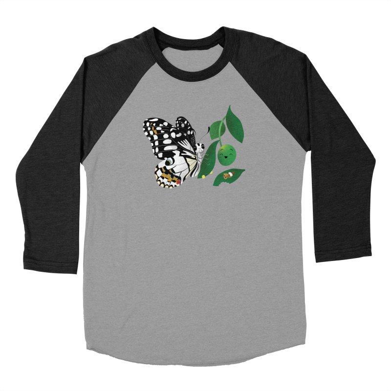 Paruparo ng Kalamansi with Calamansi & Caterpillar Women's Longsleeve T-Shirt by Filipeanut Sari-Sari Store