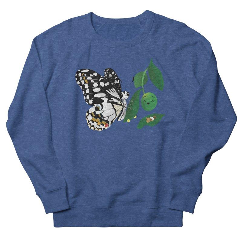 Paruparo ng Kalamansi with Calamansi & Caterpillar Women's Sweatshirt by Filipeanut Sari-Sari Store