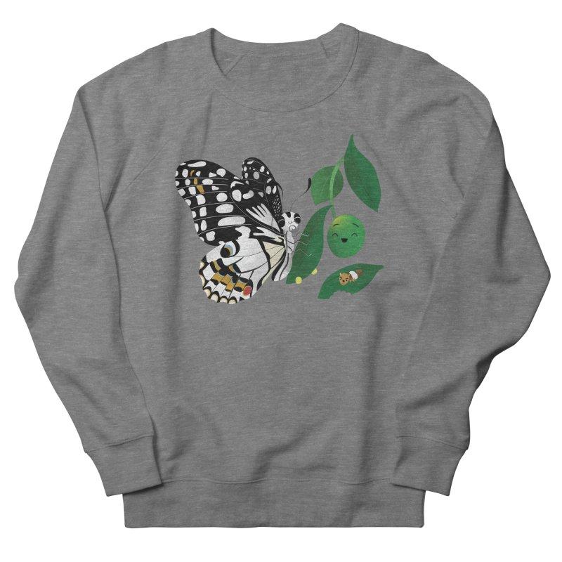 Paruparo ng Kalamansi with Calamansi & Caterpillar Women's French Terry Sweatshirt by Filipeanut Sari-Sari Store