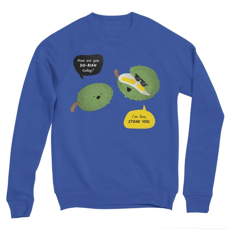 How are you Durian? Women's Sponge Fleece Sweatshirt by Filipeanut Sari-Sari Store