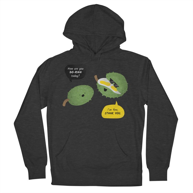 How are you Durian? Men's French Terry Pullover Hoody by Filipeanut Sari-Sari Store
