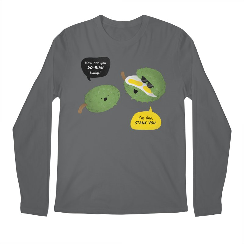 How are you Durian? Men's Longsleeve T-Shirt by Filipeanut Sari-Sari Store