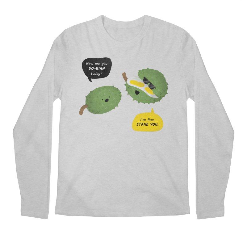 How are you Durian? Men's Longsleeve T-Shirt by Filipeanut Sari-Sari Store