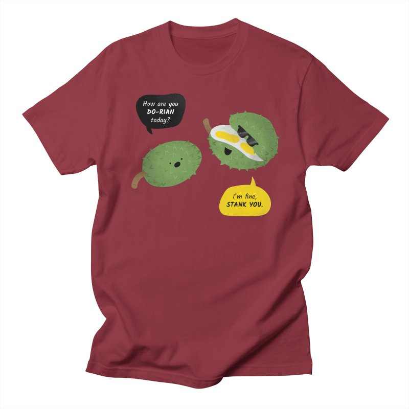 How are you Durian? Men's T-Shirt by Filipeanut Sari-Sari Store