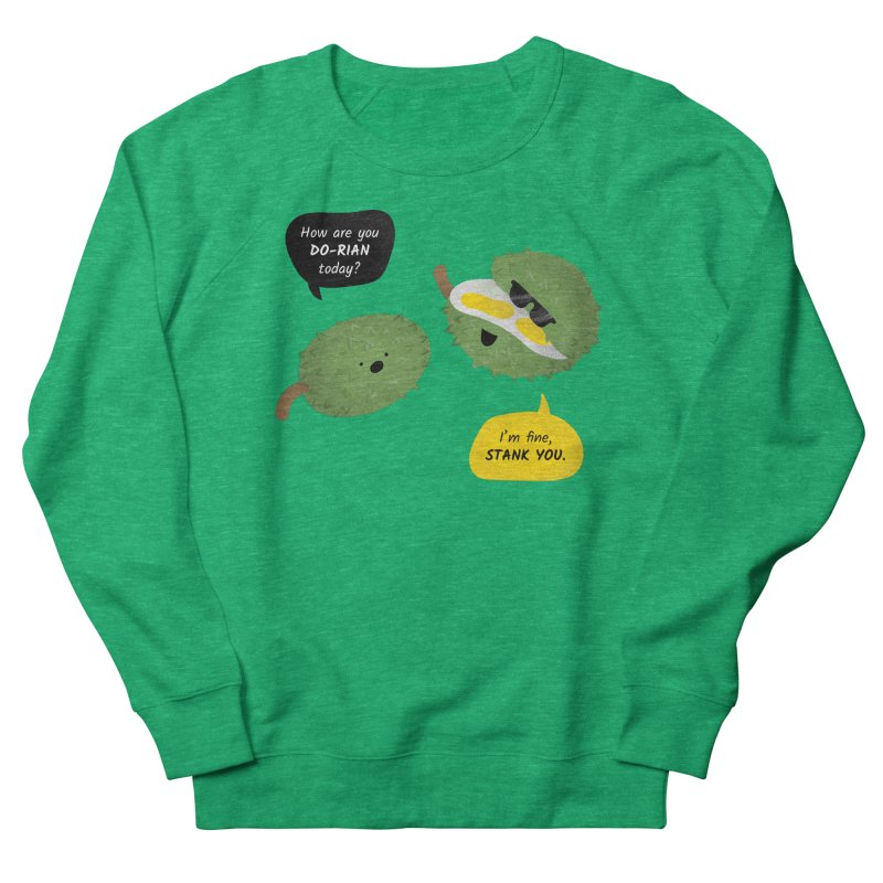 How are you Durian? Men's Sweatshirt by Filipeanut Sari-Sari Store