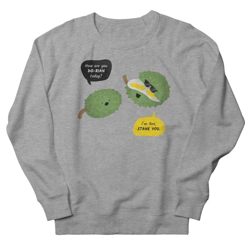 How are you Durian? Men's French Terry Sweatshirt by Filipeanut Sari-Sari Store