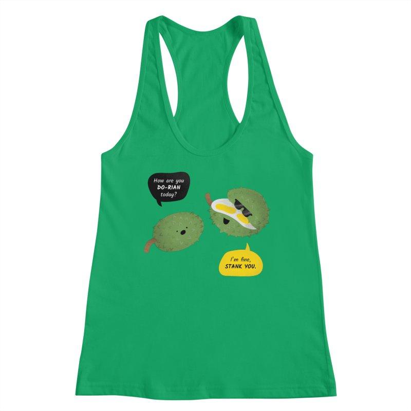 How are you Durian? Women's Tank by Filipeanut Sari-Sari Store