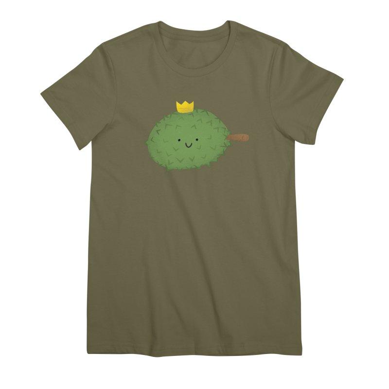 Durian, King of Fruits! Women's Premium T-Shirt by Filipeanut Sari-Sari Store